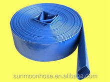 "Hot Sale !PVC lay flat flexible hose,2"",2.5"",3"", 4'' 6'' 8'' 10'' and 12'' ,150psi~300psi,hose fittings"