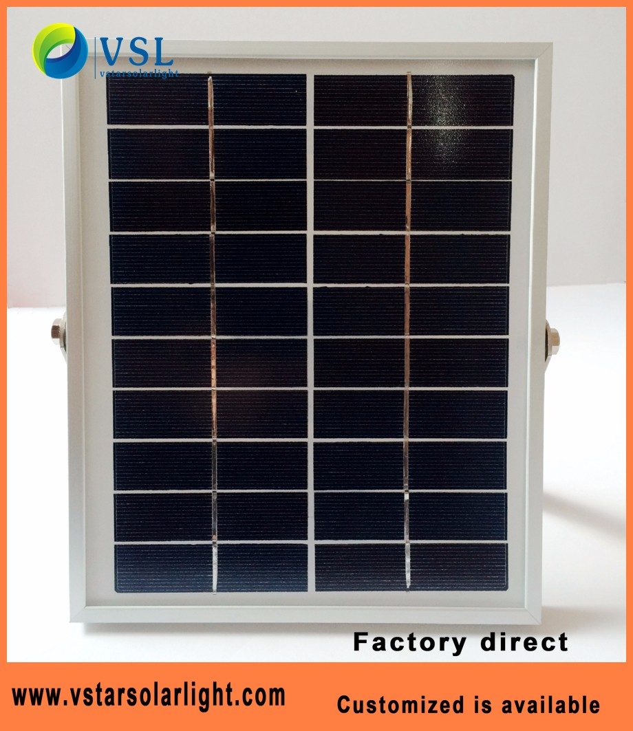 Factory 10W 6V high quality polycrystalline solar panel for solar lamps and solar light solar charger solar systems