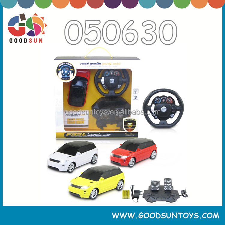 1 24 4 Channel high speed remote control cars radio control toys for kids miniature battery operated race car 050630