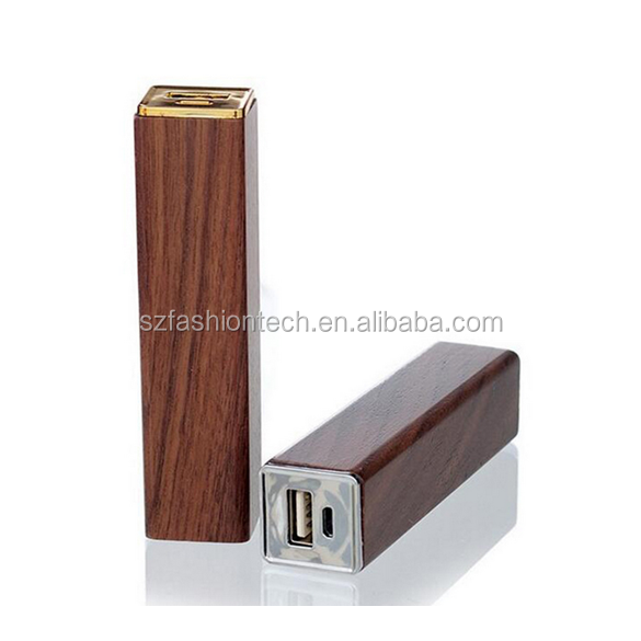 Unique Wooden power bank, mobile power supply, mobile phone power charger