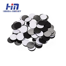 2018 hot sale children print most popular products UV self-adhesive flexible magnetic round shape rubber magnet