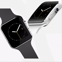 New items of goods in 2017 X6Camera SIM Card Bluetooth GSM GPRS wrist xxxcom Smart watch For Samsung Huawei Xiaomi Android Phone