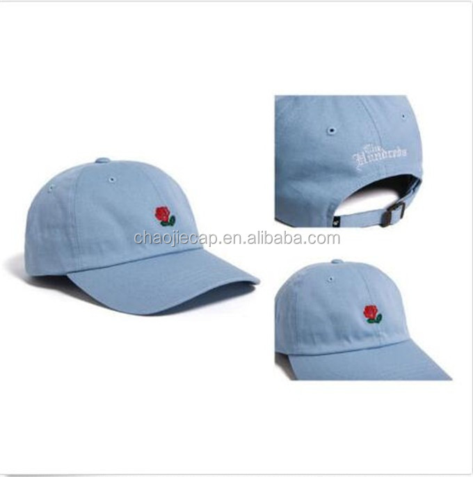 New style customized 6 panel embroidery golf baseball dad hat and cap