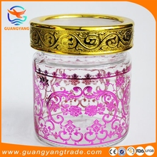 Promotional colorful kitchen metal Tea Coffee Sugar canister sets