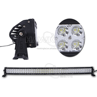 240W offroad 42 inch Epistar curved LED auto light bar used for trucks