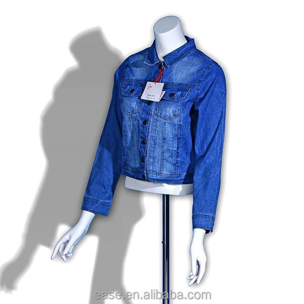 ladies cardigan fashion casual jean jacket