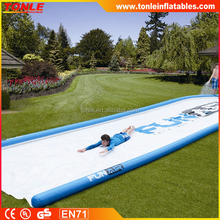 50ft long giant slip and slide/ inflatable Huge lawn water slide for sale