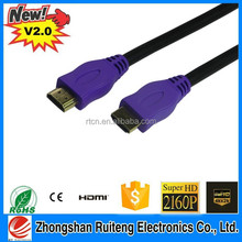 High Speed HDMI cable for HDTV,DVD player support 3D