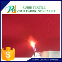 420D oxford fabric with fire retardant