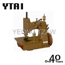YT-2A SINGLE NEEDLE TWO THREAD OVEREDGING INDUSTRIAL SEWING MACHINE FOR JUTE PP PE WOVEN CLOTH BAGS CLOSING MANUFACTURING