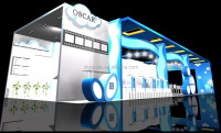 High quality standard booth/trade show booth display/modular stand exhibition for carton fair/exhibits