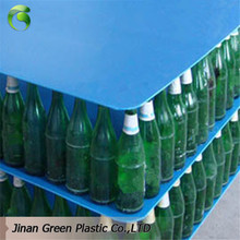 Green Corrugated Correx Polypropylene Plate For Beverage Packing Industries