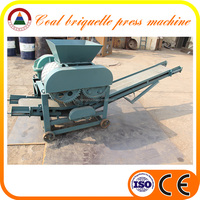 CE Approved coal briquette machine price 12 clay coal sales