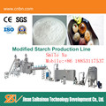 Advanced modified starch extruder production