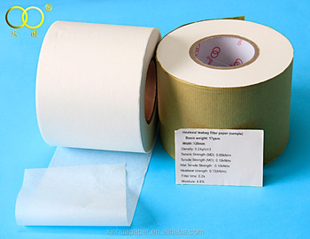 2015 China good quality white or brown 16.5-28gsm tea bag filter paper