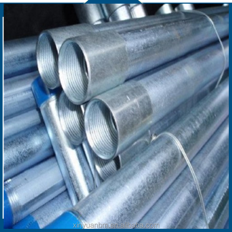 Building material galvanized thin wall steel rectangular