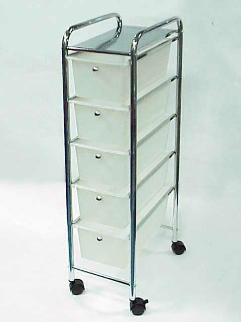 Badezimmer Regal Metall  Narrow Metal Storage Cabinet with Drawers