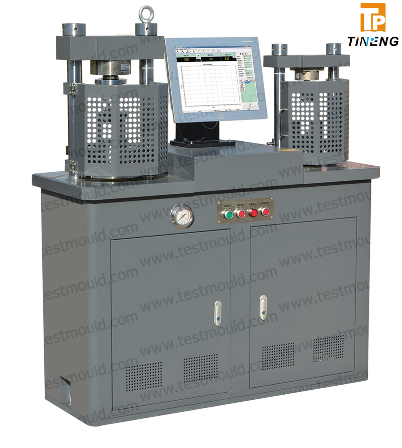 Automatic Flexure strength & Compression Testing Machine