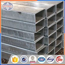 Galvanized hollow section rectangular steel pipe drain piping