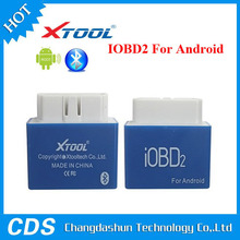Smart Car Doctor multi language XTOOL IOBD2 For Andriod OBDII/EOBDII Code Reader communicate with Mobile Phone bluetooth