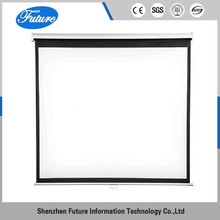 Newest ODM ROHS pull up used projector video projection screen