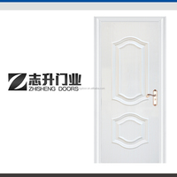 Vietnam carved surface design steel wooden interior cheap door