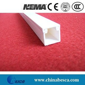 White/Gray PVC Wire Duct (UL, SGS, IEC and CE)