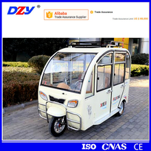 High quality pedicab motor kit pedal passenger tricycle with roof