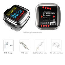Modern technology multifunctional low cost rehabilitative care laser treatment wrist watch