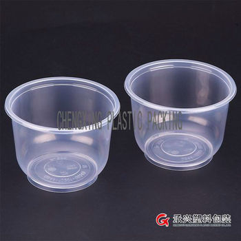 CX-7550 disposable containers transparent plastic bowl