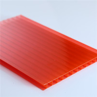 With 15 years experience factory directly plastic sheet light diffuse lexan hollow polycarbonate sheet for solar panel