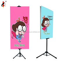 Competitive price height adjustable picture hanging poster stand