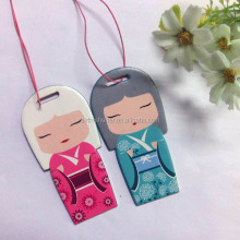 bulk car air freshener/promotion hanging paper freshener cards/car paper perfume