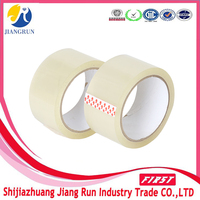 Carton Sealing Use and Hot Melt,Pressure Sensitive,Water Activated Adhesive Type clear Packing Tape