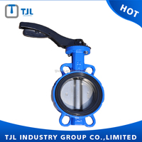 hand lever operation butterfly valve