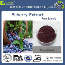 Super fruit bilberry extract powder for heart health