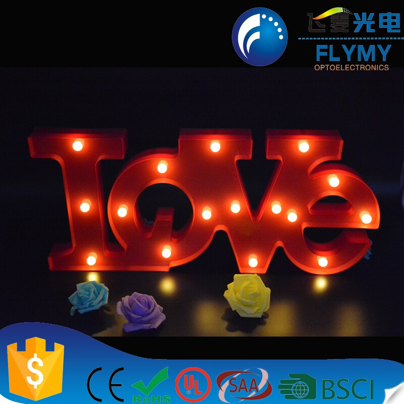 2017 New Love Marquee Letter Sign Big Light Sign