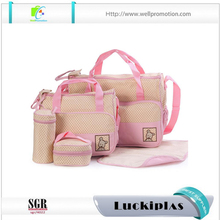 Wholesale diaper bags mummy baby bag, mommy diaper bag set