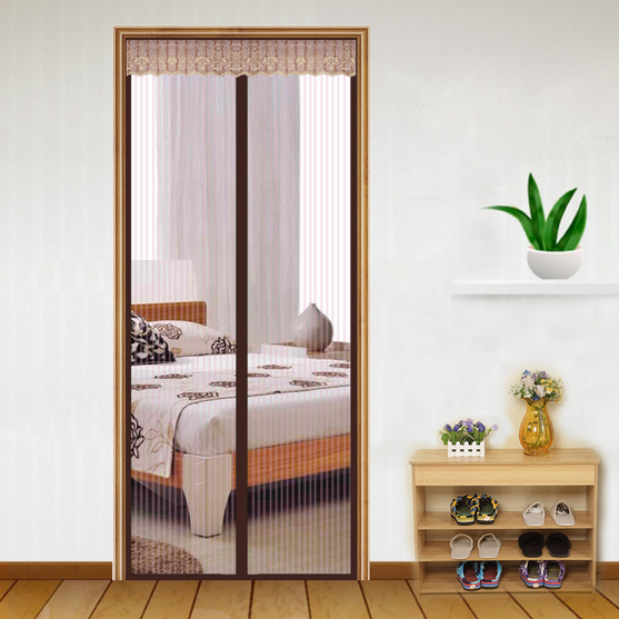 The Soft Magnetic screen door with different design and different color Size and Material