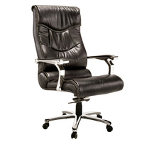 Dark Black High back executive chair office chair covers