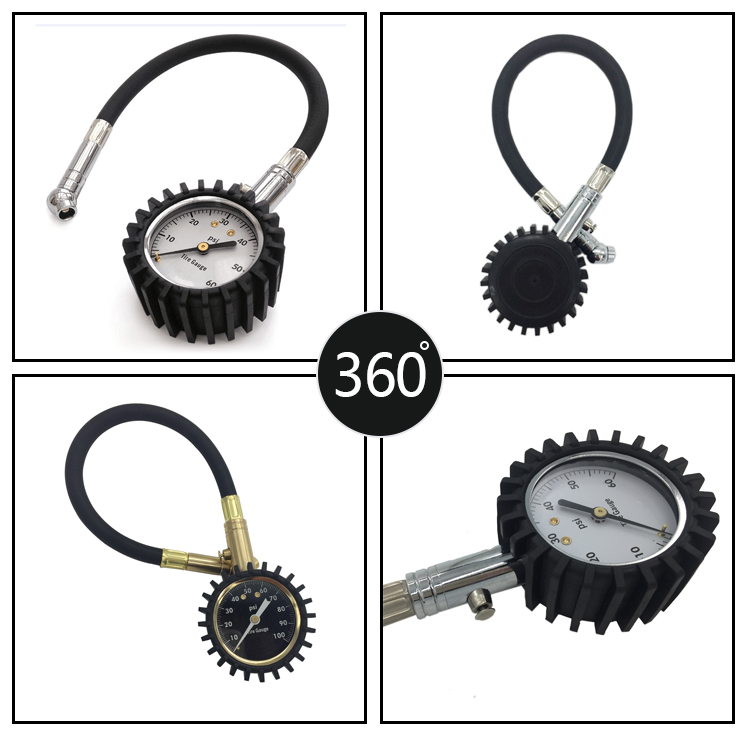 Durable Tire Pressure Gauge 0-60psi Professional for trucks, motorcycles, automobiles