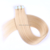 indian 60# tape hair extensions perfect lady virgin ideal human hair extensions