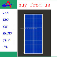 made in China home 130w poly solar panel kit