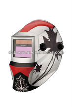 Canada maple leaf decal 5000hrs Din 4 Auto darkening welding helmet