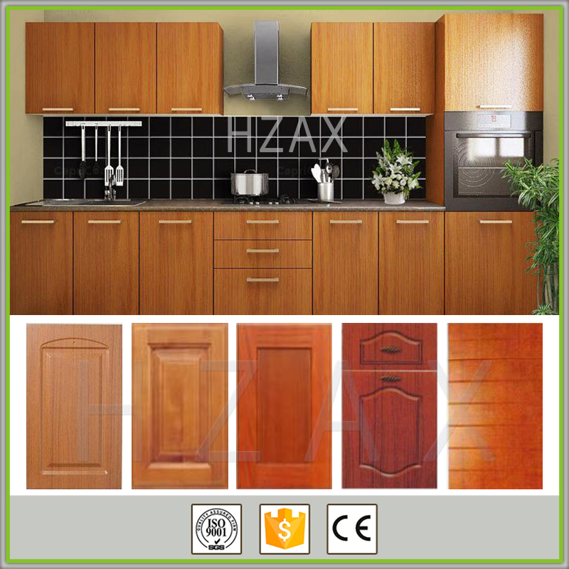Classic style home depot pvc kitchen cabinets made in China