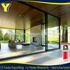 YY latest design wardrobes bedroom doors 12mm tempered glass door prices 96 x 80 sliding fire rated glass door
