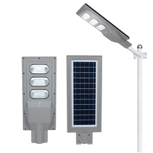 ALLTOP bridgelux outdoor waterproof IP65 30w 60w 90w integrated all in one solar led streetlight