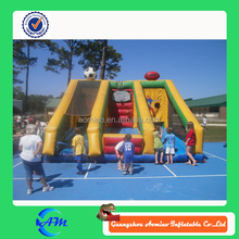 Cheap Inflatable Ball Game Football/Basketball/ Rugby Sports Game