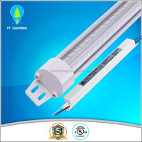 5 years warranty high efficiency 4ft/5ft/6ft/8ft v shape t8 led tube UL/cUL DLC approved