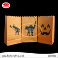 Festival candle paper bag with funny design